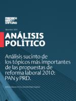 Análisis sucinto de los tópicos más importantes de las propuestas de reforma laboral 2010