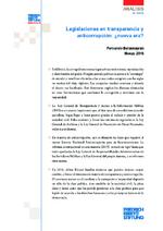 Legislaciones en transparencia y anticorrupción