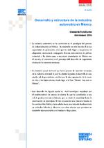 Desarrollo y estructura de la industria automotriz en México